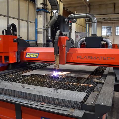 Lavorazione meccanica, montaggio e verniciatura-4